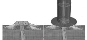Développement de l'interface entre la coque et le rotor