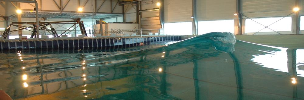 Bassin de génie océanique et de Houle Centrale Nantes