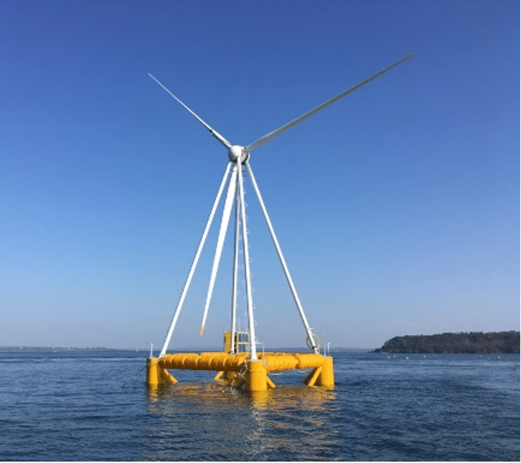 EOLINK, Floating wind turbine