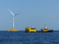Offshore green hydrogen production