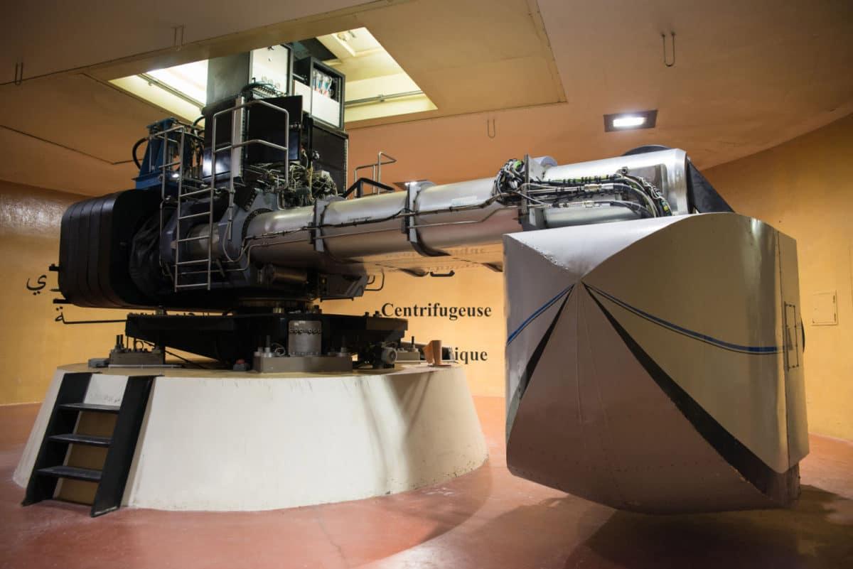 IFSTTAR Centrifugeuse géotechnique