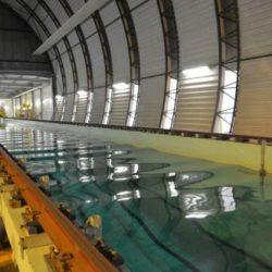Bassin de traction Centrale Nantes Bassins de Génie Océanique