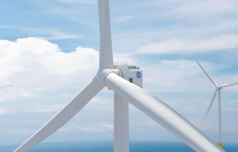 Les projets Haliade-X 12 MW Dogger Bank en UK et Orsted aux US