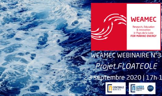 WEAMEC Webinaire - N°3 : Le projet FLOATEOLE