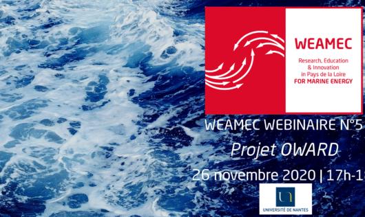 WEAMEC Webinaire - N°5 : Le projet OWARD