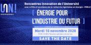 Rencontres Innovation « Energie pour l'industrie du futur »