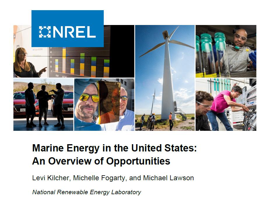 Marine Energy in the US_NREL